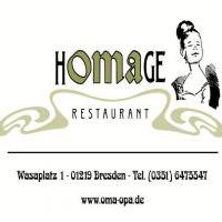 restaurant homage kg wasaplatz 1 in 01219 dresden restaurants. Black Bedroom Furniture Sets. Home Design Ideas