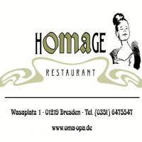 Restaurant Homage KG in Dresden auf restaurant01.de