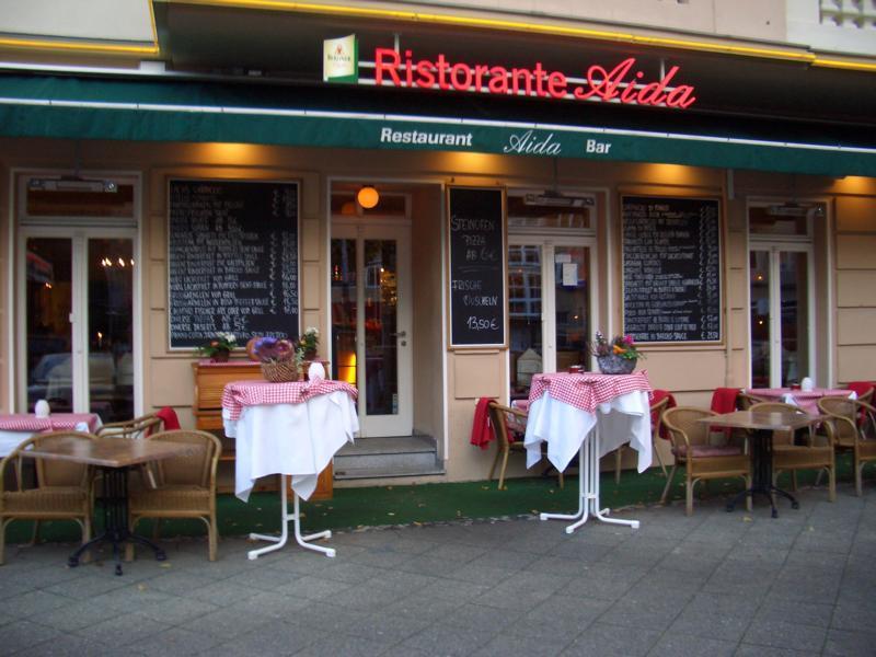 aida ristorante italiano knesebeckstra e 83 in 10623 berlin restaurants. Black Bedroom Furniture Sets. Home Design Ideas