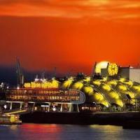 SKYLINE Restaurant im Theater im Hafen in Hamburg auf restaurant01.de
